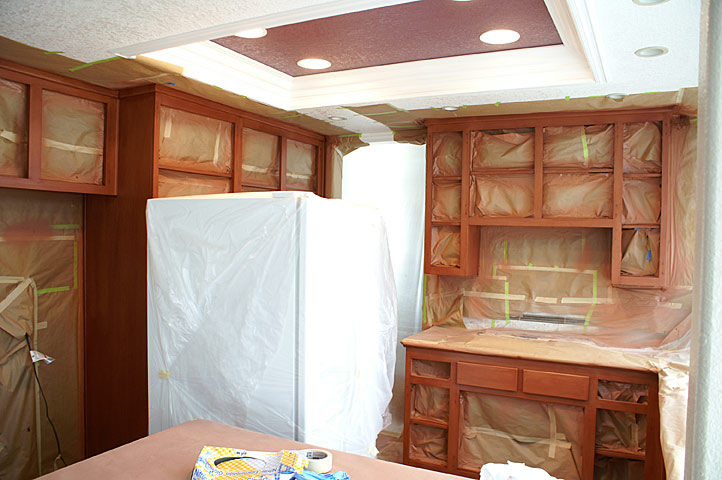 Cabinet Refinishing 3